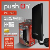 Antena tv Push on Po-890 hd tv digital outdoor dan indoor tv antena