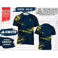 Kwista Kaos Badminton S8-02 / Kwista Kaos Bulutangkis S8-02
