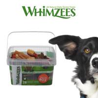 Whimzees Dental Chew Dog Treats Variety Value Box M
