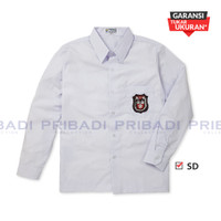Baju Kemeja Seragam Sekolah SD Putih Lengan Panjang