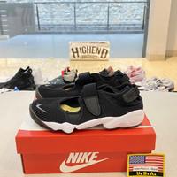 Sepatu Nike Air Rift BR Black And White Women 100% Original 848386-001