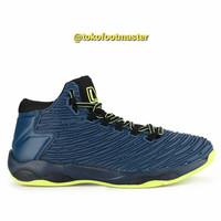 Sepatu Basket League Original Shift Majolic Blue Volt Black