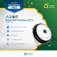 ARBIT - Wifi CCTV Fisheye Panoramic 1080P 2MP Storage up to 128GB