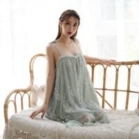 Better Home Baju Tidur Wanita Transparan Lingerie Seksi - Green