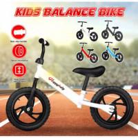 Mainan Sepeda Balance Bike Push Bike Happy Baby / Mainan Sepeda Anak