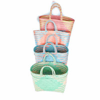 Lucy bag / tas belanja / shopping bag / tas anyaman plastik murah