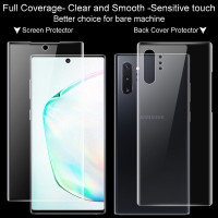 ANTI GORES JELLY HYDRO SAMSUNG NOTE 10 PLUS DB FULL - SCREEN PROTECTOR