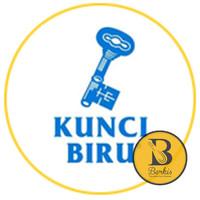 Tepung Terigu Bogasari Kunci Biru 1 Kg [Repack] ; Protein Rendah