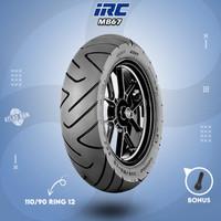 Ban Belakang Tubles Motor HONDA NEW SCOOPY IRC MB67 110/90 Ring 12