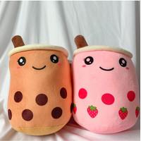 Boneka Boba Bubble Milk Tea / Bantal Boba