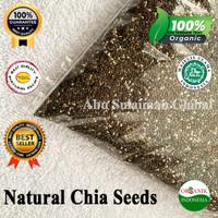 Chia Seed Mexico Organik / Premium Natural Chia Seed Mexico 1 kg