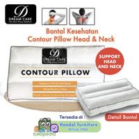 Bantal Kesehatan Contour Head & Neck Dream Care