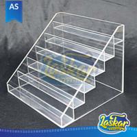 Acrylic display rak perlengkapan toko/minimarket