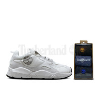Timberland Men Ripcord Low Sneakers White Free Socks