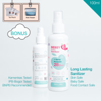 BerryC Berry C Active Hand Sanitizer Non alcohol tahan 28 Hari 100 ml