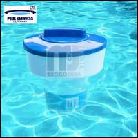 Floating Chlorine Dispenser Pelampung Tempat Kaporite Kolam Renang