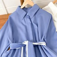 MUTIA SHIRT (Realpict) Atasan Wanita Shirt Muslim Tunik Model Terbaru