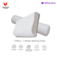 Vablo bantal gratis guling memory foam + bonus tas - pure memory foam