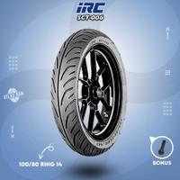 Ban Depan Tubles Motor HONDA PCX IRC SCT-006 100/80 Ring 14