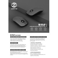 Mouse W150, Zornwee