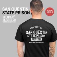 Kaos San Quentin State Prison Retro Vintage Distro - XL
