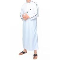 Baju Gamis Jubah Laki Laki Pria Muslim Dewasa Lengan Panjang Terbaru