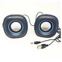 Speaker Music Box G105 Laptop Komputer Audio Suara 2 sisi Multimedia