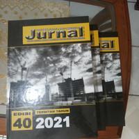 Buku Jurnal Harga Satuan Bahan Bangunan Edisi 40-2021