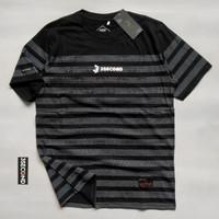 Kaos 3second Size M L XL Baju Atasan Pria Wanita, Kaos Distro Bandung - Kode045T, XL