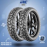 Paket Ban Tubles Motor Matic IRC GP5 80/90 - 90/90 Ring 14