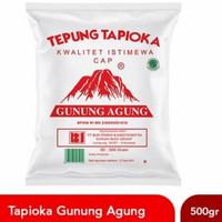 Tepung Tapioka Kanji Gunung Agung Merah 500 gr 500gr Rose Brand