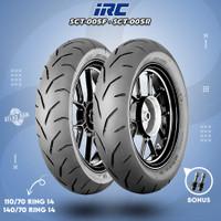 Paket Ban Tubles Motor AEROX IRC SCT-005 110/80 - 140/70 Ring 14