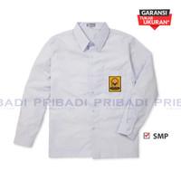 Baju Kemeja Seragam Sekolah SMP Putih Lengan Panjang