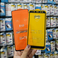 Tempered Glass Full 5D Samsung a9 2018 Anti Gores - Free Bubble Wrap
