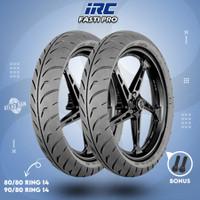 Paket Ban Tubles Motor Matic IRC FASTI PRO 80/80 - 90/80 Ring 14