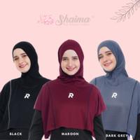 Jilbab hijab sport sporty olahraga senam yoga muslim muslimah - gloria