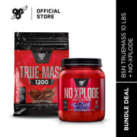 BSN Bundle Truemass10LB + NO XPLODE 60Serving