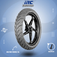 Ban Tubles Motor Matic RACING COMPOUND IRC FASTI PRO 80/80 Ring 14