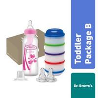 Dr. Brown's Toddler Package B - Gift Set Bayi