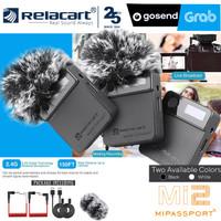 MINI WIRELLESS MIC RELACART MI-2 FOR CAMERA SLR SMARTPHONE