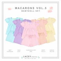 Setelan Anak Perempuan Macarons Babydoll Set Lacey Atelier