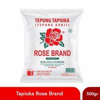 Tepung Tapioka Kanji Rose Brand 500 gr 500gr