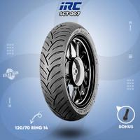 Ban Belakang Tubles Motor HONDA PCX IRC SCT-007 120/70 Ring 14