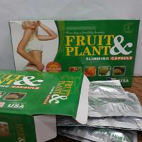 fruit and plant slimming capsule asli obat pelangsing badan
