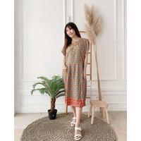 Grosir ecer daster dress batik wanita murah adem halus baju tidur