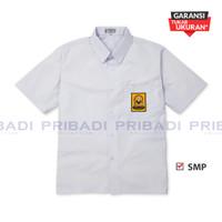 Baju Kemeja Seragam Sekolah SMP Putih Lengan Pendek