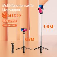 MIXIO A31 Tongsis Bluetooth Selfie Stick Tripod