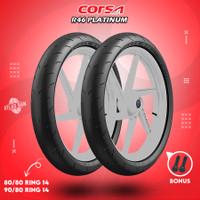 Paket Ban Tubles Motor Matic CORSA R46 PLATINUM 80/80 - 90/80 Ring 14