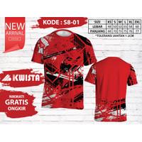 Kwista Kaos Badminton S8-01 / Kwista Kaos Bulutangkis S8-01