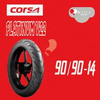 BAN LUAR CORSA 90/90-14 PLATINUM V22 TUBELESS